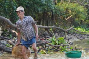 Mekong, Asien, Weltreise, Fischer, Bericht