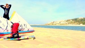 spotguide, Kitespot, wellenspot, portugal, portugal, bom sucesso, lagoa do obidos, kiten, surfen, kiteboarding